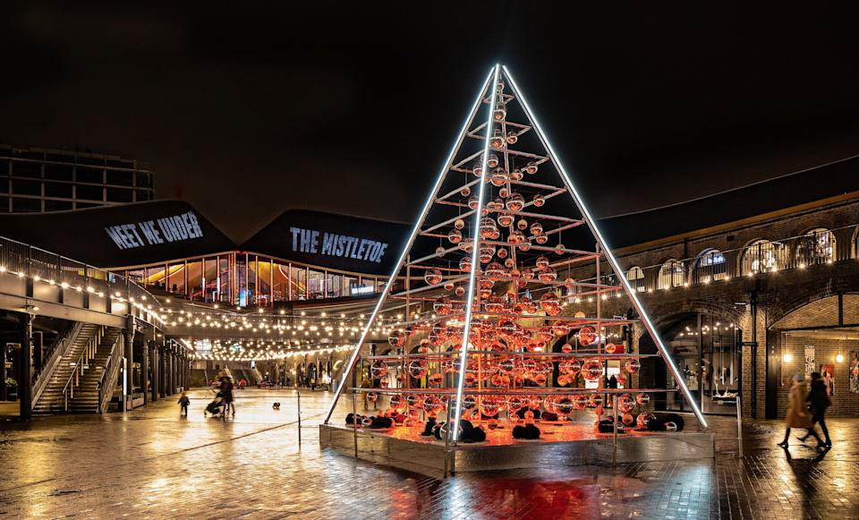 The Terrarium Tree, Coal Drops Yard, Christmas in King's Cross (Photo: John Sturrock)