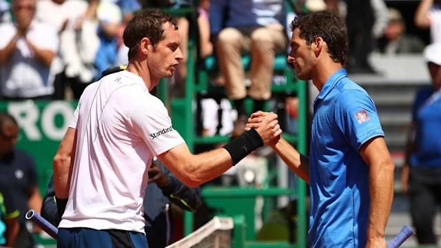Andy Murray looked set for another defeat to Albert Ramos-Vinolas, but the Spaniard was unable to put the world number one away.