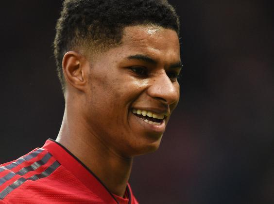 Marcus Rashford has been in fine form for United (AFP/Getty)