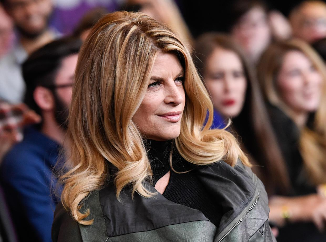 Kirstie Alley attends the premiere of HBO's
