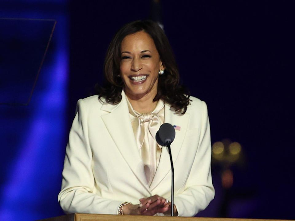 kamala harris victory speech