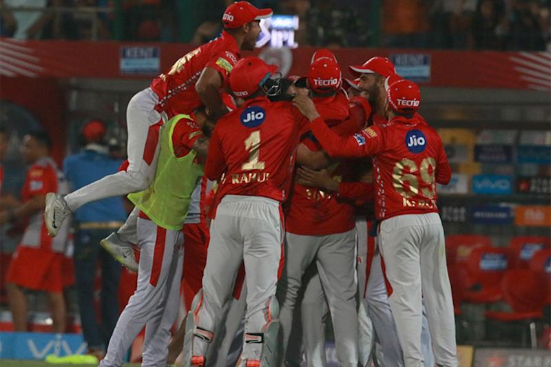 IPL 2018: Delhi Fail to Chase 144, KXIP Register Thrilling 4-Run Win