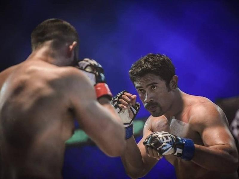 """Sangkar"" is the first Malaysian feature film to focus on mixed martial arts (MMA) fighting."
