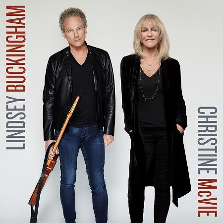The first song from Lindsey Buckingham/Christine McVie is out Friday