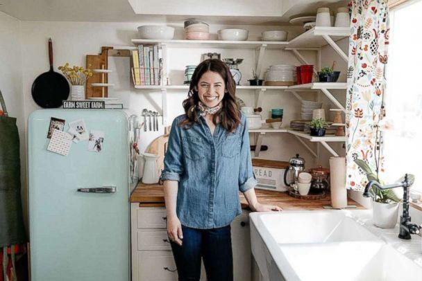 PHOTO: Molly Yeh, the creator of the popular food and lifestyle brand 'my name is yeh' and host of 'Girl Meets Farm' on Food Network is photographed here. (Food Network)