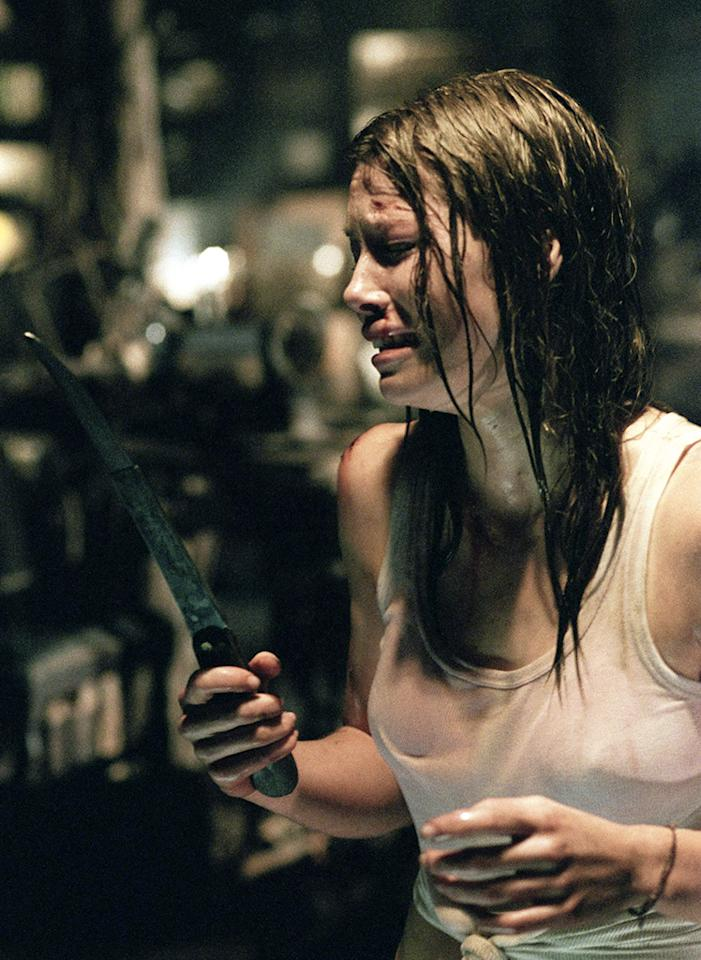 """Jessica Biel, covered in blood. Biel plays Vera Miles in """"Hitchcock,"""" which received only one nomination — for makeup and styling. That's a slim-enough excuse to bring up her audition for """"The Notebook."""" She really wanted that part, she confessed to Elle magazine. """"I was in the middle of shooting 'Texas Chainsaw Massacre,' and I auditioned with Ryan Gosling in my trailer — covered in blood."""" Though the 2004 film did well with Rachel McAdams, a bloody Biel might add a new dimension to a Nicholas Sparks movie."""