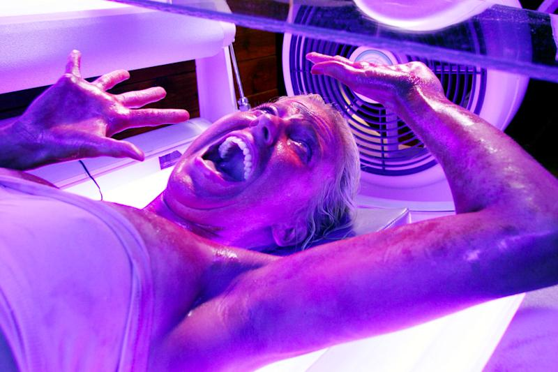Chelan Simmons in 'Final Destination 3' experiencing one of the franchise's most gruesome demises. (Photo: New Line Cinema/Courtesy Everett Collection)