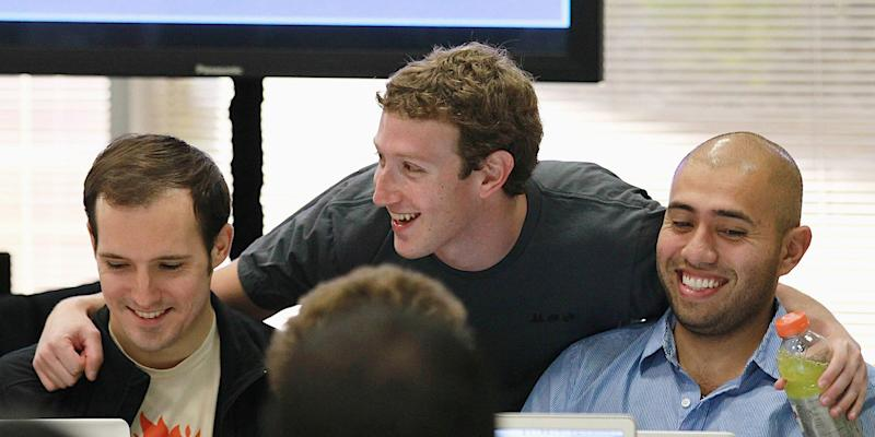 mark zuckerberg facebook employees