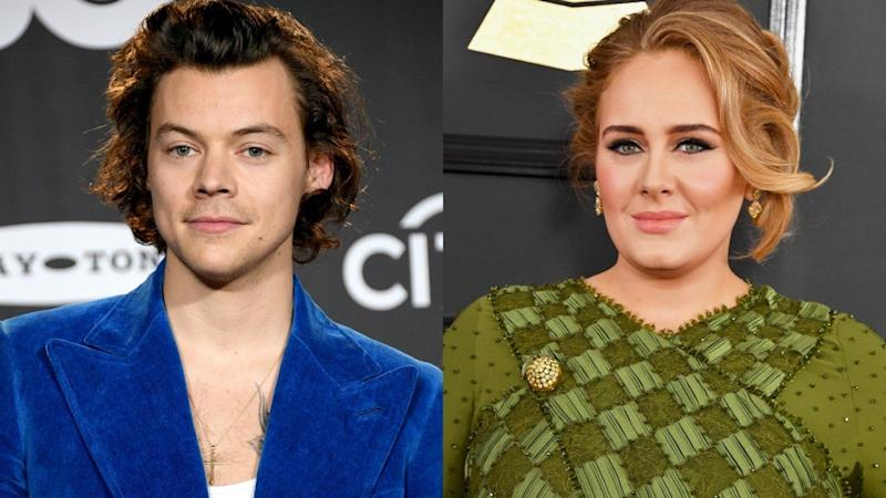 Harry Styles and Adele Spotted Vacationing Together in Anguilla -- And Fans Are Freaking Out!