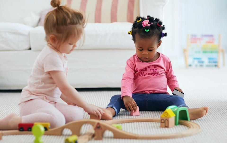 """<span class=""""caption"""">Children whose parents work irregular hours and children from families with lower incomes are over-represented in home child care. </span> <span class=""""attribution""""><span class=""""source"""">(Shutterstock)</span></span>"""
