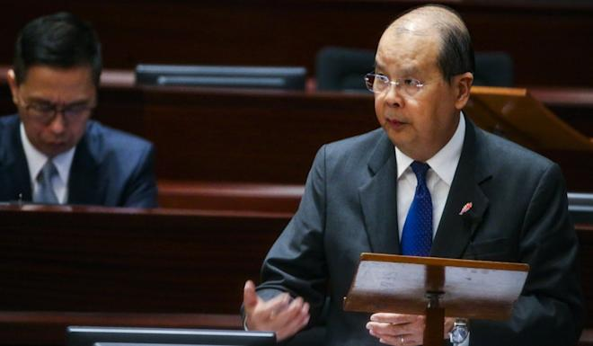 Matthew Cheung says no solution has been found to easing the crisis. Photo: David Wong