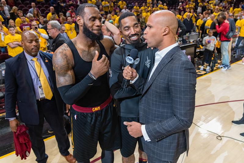 Richard Jefferson ends friendship with LeBron James to avoid free agency rumors