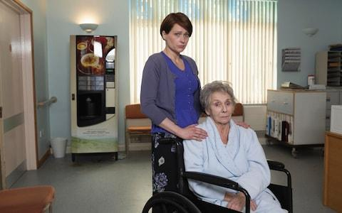 Sian Brooke and Sue Johnston play daughter Julie and mother Bella - Credit: Laura Radford/Channel 4