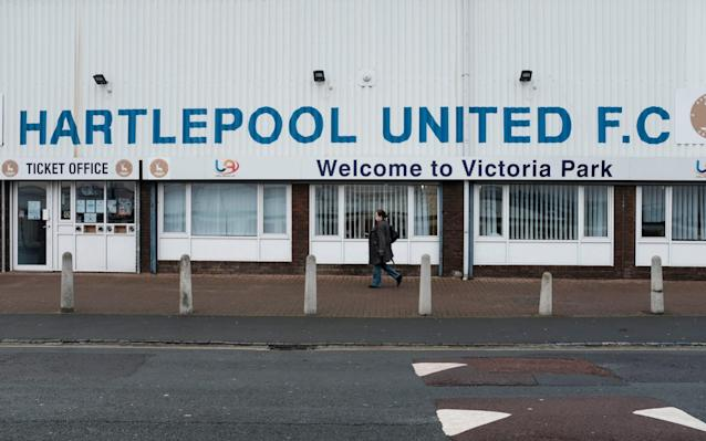 """Hartlepool United could be on the brink of going out of business after a local businessman walked away from a proposed takeover having looked into the club's finances. Chris Musgrave had said he was ready to save his home-town club but, after looking more closely at the finances involved to cover ongoing losses, he has pulled out. It is understood Hartlepool, who were relegated from the Football League for the first time last year, are losing around £130,000-a-month and have until Jan 25 to pay a £200,000 VAT bill. Should they default on that payment, they will either have to be put into administration by current owner John Blackledge, who is already owed around £1.8m, after previous owner Gary Coxhall abandoned the ailing North-East club last year. Although there have been other interested parties, Musgrove was believed to be the only serious contender to save the club and there is a chance the business will go into liquidation if a new buyer cannot be found. Hartlepool play Chester in the National League on Tuesday night and have won just one game out of 13. A statement from Musgrave read: """"Some weeks ago, I was approached by Christopher Akers-Belcher, the leader of Hartlepool Council, to consider the prospect of buying Hartlepool United Football Club, so that it could be saved from financial ruin. Hartlepool United were members of the Football League from 1921-2017 Credit: Darren O'Brien/Guzelian for The Telegraph """"It was clear to me that the leader of the council and his officials, intended to do everything possible to secure the long term future of the club, due to its social and economic importance to the town. """"On that basis, I agreed to entertain the possibility of purchasing the enterprise, providing the financial challenges were such, that I could accurately estimate the financial sum I would be required to inject into the club. """"I know very little about the game of football and I am not a football enthusiast, but I do understand the importance of the club"""