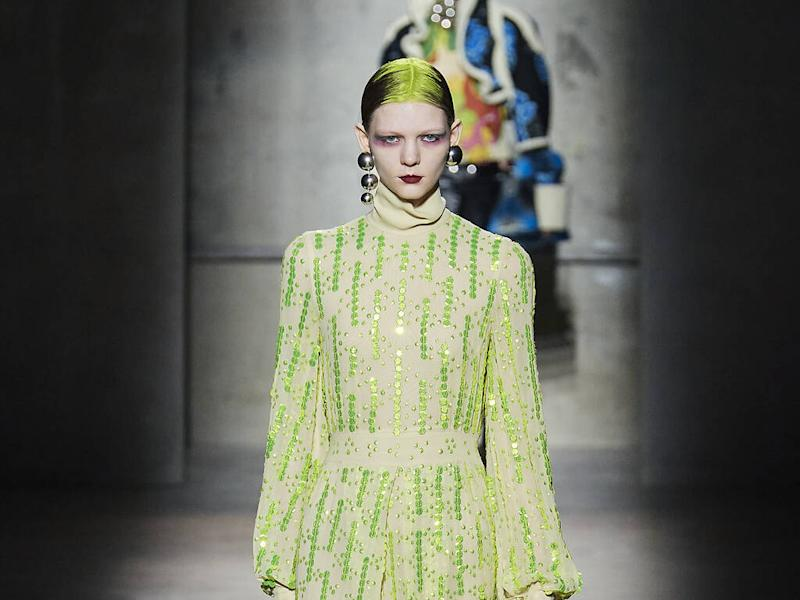 Dries Van Noten serves up ultimate party girl wardrobe for fall 20 line