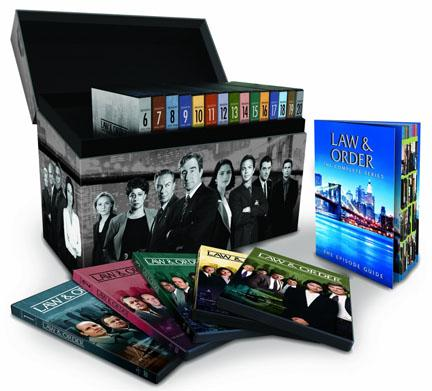 'Law & Order': A 104-Disc DVD Set & 10 Top 'Ripped From the Headlines' Eps