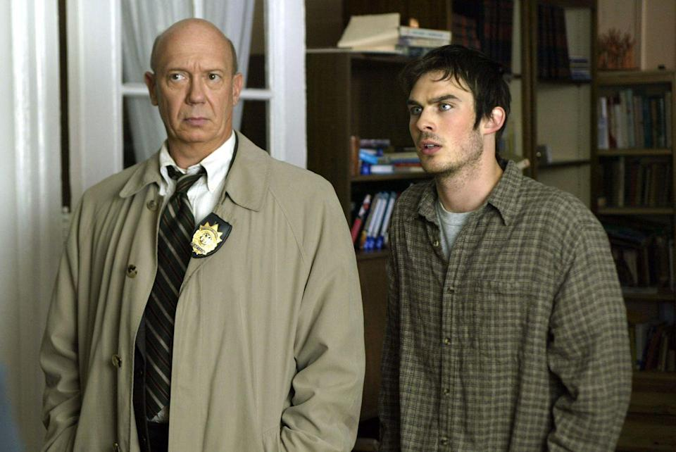 "<p>In the season four episode, ""Dominance,"" Somerhalder steps into the dark character of Charlie Baker, a psychopath guilty of raping his younger brother and beating their father. He continues to manipulate his brother, forcing him to kill multiple people and framing him for abductions that Baker himself had committed.</p>"