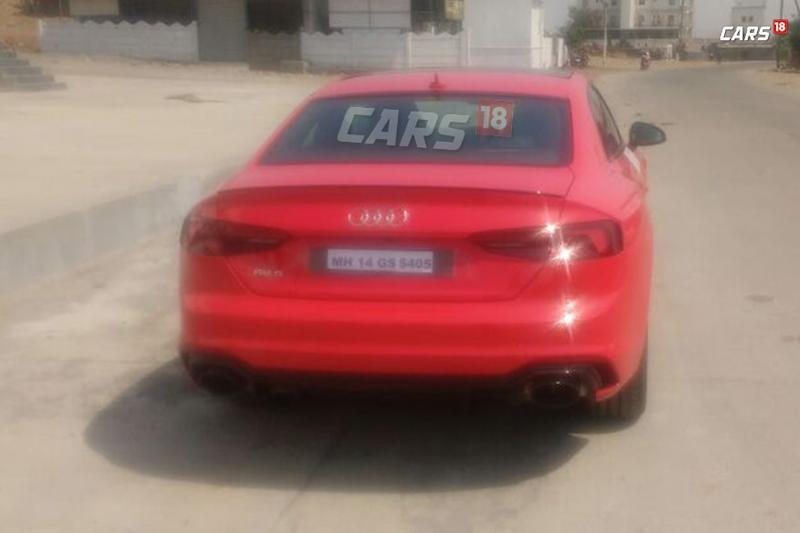 2018 Audi Rs5 Coupe Spotted In India Launch On April 11