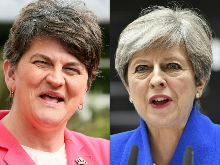 UK, Northern Ireland make deal to fortify May's minority