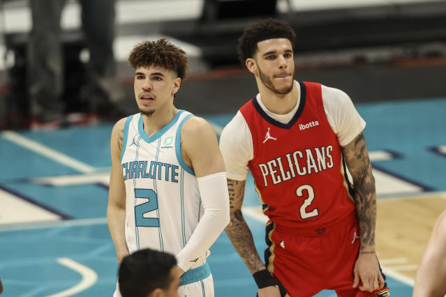 Pelicans vs. Hornets: the Lonzo and LaMelo Ball