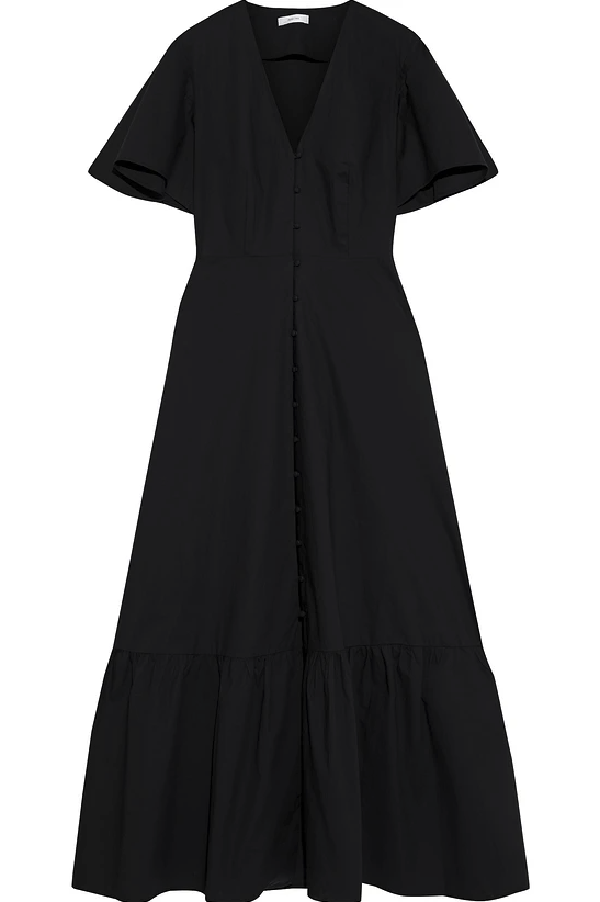 "<br><br><strong>Iris & Ink</strong> Albertine Cotton-Poplin Maxi Dress, $, available at <a href=""https://www.theoutnet.com/en-gb/shop/product/iris-ink/dresses/maxi-dress/albertine-gathered-cotton-poplin-maxi-dress/9649229528808229?gclid=Cj0KCQiA4feBBhC9ARIsABp_nbWdzf95RGwUBrWWuzgx1OQZOnCGShAKK7ml6OCc7VQ1NmwbHBk1Y3oaAhXlEALw_wcB&gclsrc=aw.ds"" rel=""nofollow noopener"" target=""_blank"" data-ylk=""slk:The Outnet"" class=""link rapid-noclick-resp"">The Outnet</a>"