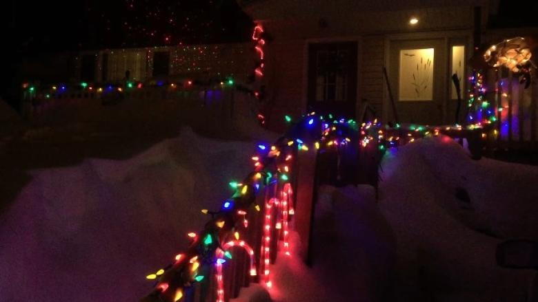 Christmas in March: Why holiday lights are shining in Labrador West