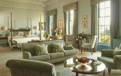 Book your family in for a stay at a grand city hotel, like the Royal Crescent, in Bath, and you'll return well rested