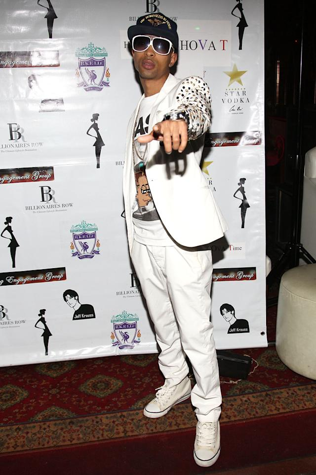 """Don Jazzy attends the """"<a target=""""_blank"""" href=""""http://tv.yahoo.com/bad-girls-club/show/40081"""">Bad Girls Club</a>"""" official reunion party at Kamasutra Lounge on April 27, 2012 in New York City."""