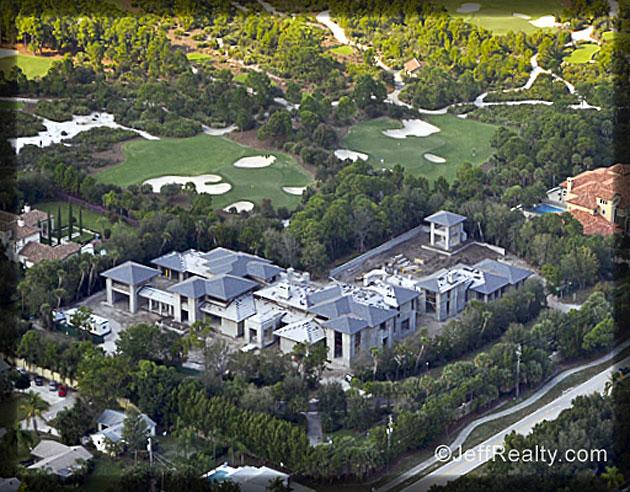 Michael Jordan Is Just About To Move Into A New 28000 Square Foot 124 Million Home In Jupiter Fla Among His Neighbors Will Be One Tiger Woods