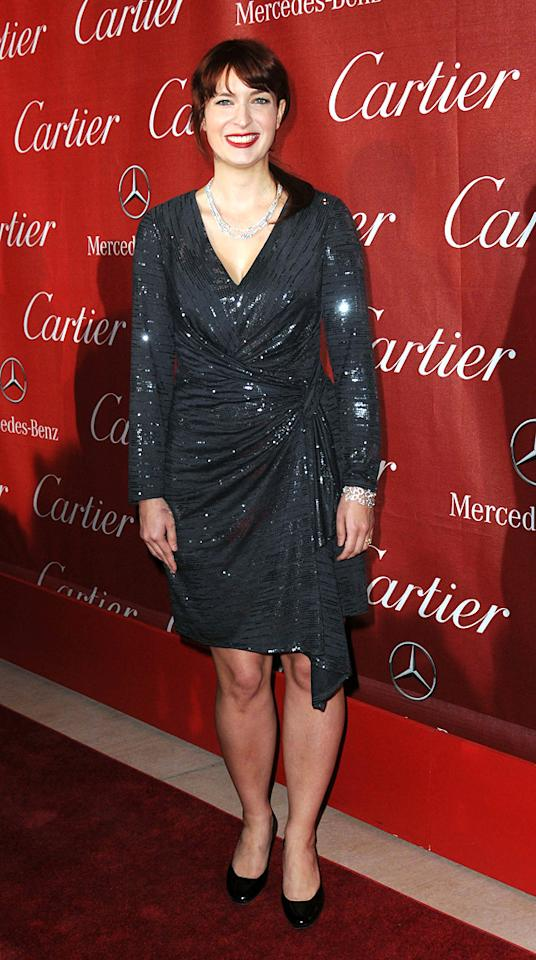 """<a href=""""http://movies.yahoo.com/movie/contributor/1809215786"""">Diablo Cody</a> attends the 23rd Annual Palm Springs Film Festival awards gala on January 7,2012."""