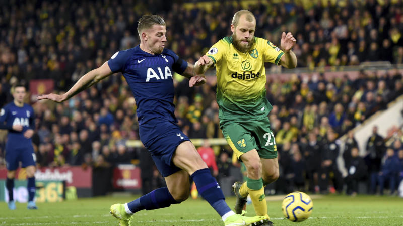 Tottenham-Norwich live stream: Watch EPL game online on NBC Sports Gold