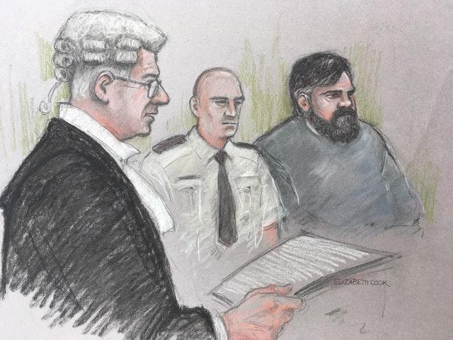'Nick' was unmasked as Carl Beech (r) when reporting restrictions were lifted at Newcastle Crown Court (Elizabeth Cook/PA)