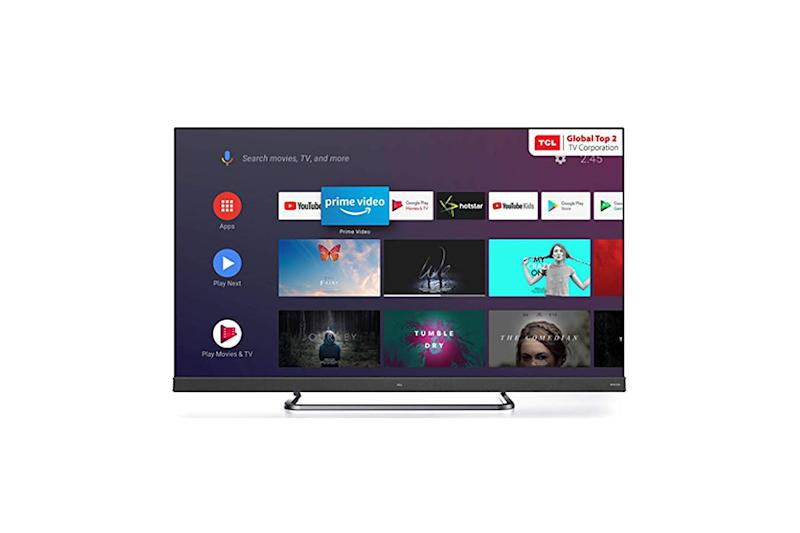 TCL C8 4K Smart TV Range With Far-Field Voice, Android TV Now Available at Rs 49,990