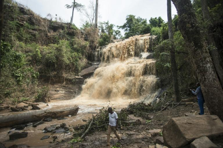 Twenty students were killed in a freak accident at the popular tourist destination of Kintampo Falls in Ghana