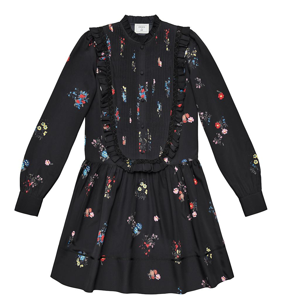 """<p>It's that time of year again. Yes, it's almost time to pull out the tights. And what better item to don them with than an Erdem shirt dress? <em><a rel=""""nofollow noopener"""" href=""""http://www2.hm.com/en_gb/index.html"""" target=""""_blank"""" data-ylk=""""slk:H&M"""" class=""""link rapid-noclick-resp"""">H&M</a>, £99</em> </p>"""