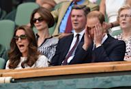 <p>Duchess Kate with her signature game face on. </p>