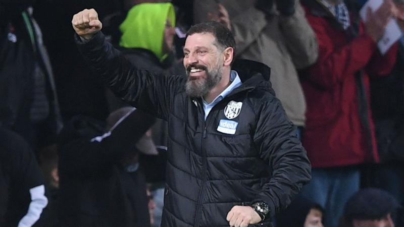 Championship: West Brom on top after Leeds let slip three-goal lead