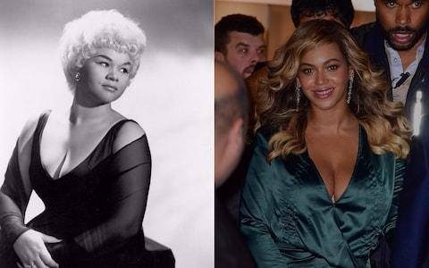 Etta James and Beyoncé