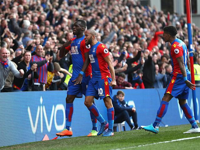 Benteke snatched the equaliser in the 70th minute: Getty