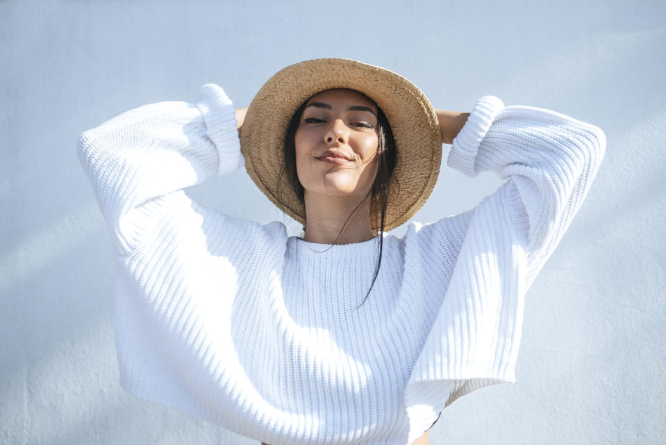 A classic straw hat will last you for years and keep you protected from the sun's harmful rays. (Getty Images)