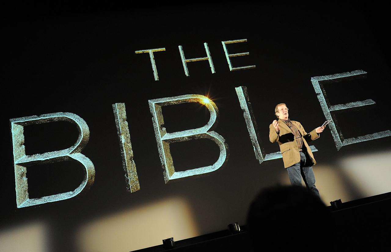 LOS ANGELES, CA - JUNE 12: Pete Hammond attends a special event for History's 'The Bible' at Harmony Gold Theatre on June 12, 2013 in Los Angeles, California. (Photo by Angela Weiss/Getty Images for History)