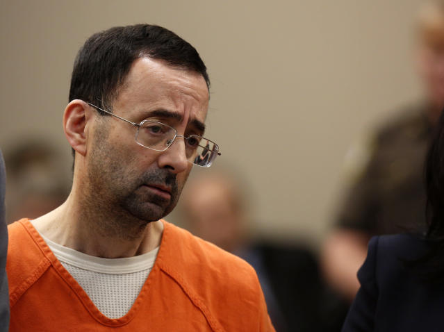 Larry Nassar's sexual assault case rocked the gymnastics world. (Photo: Jeff Kowalsky/AFP/Getty Images)