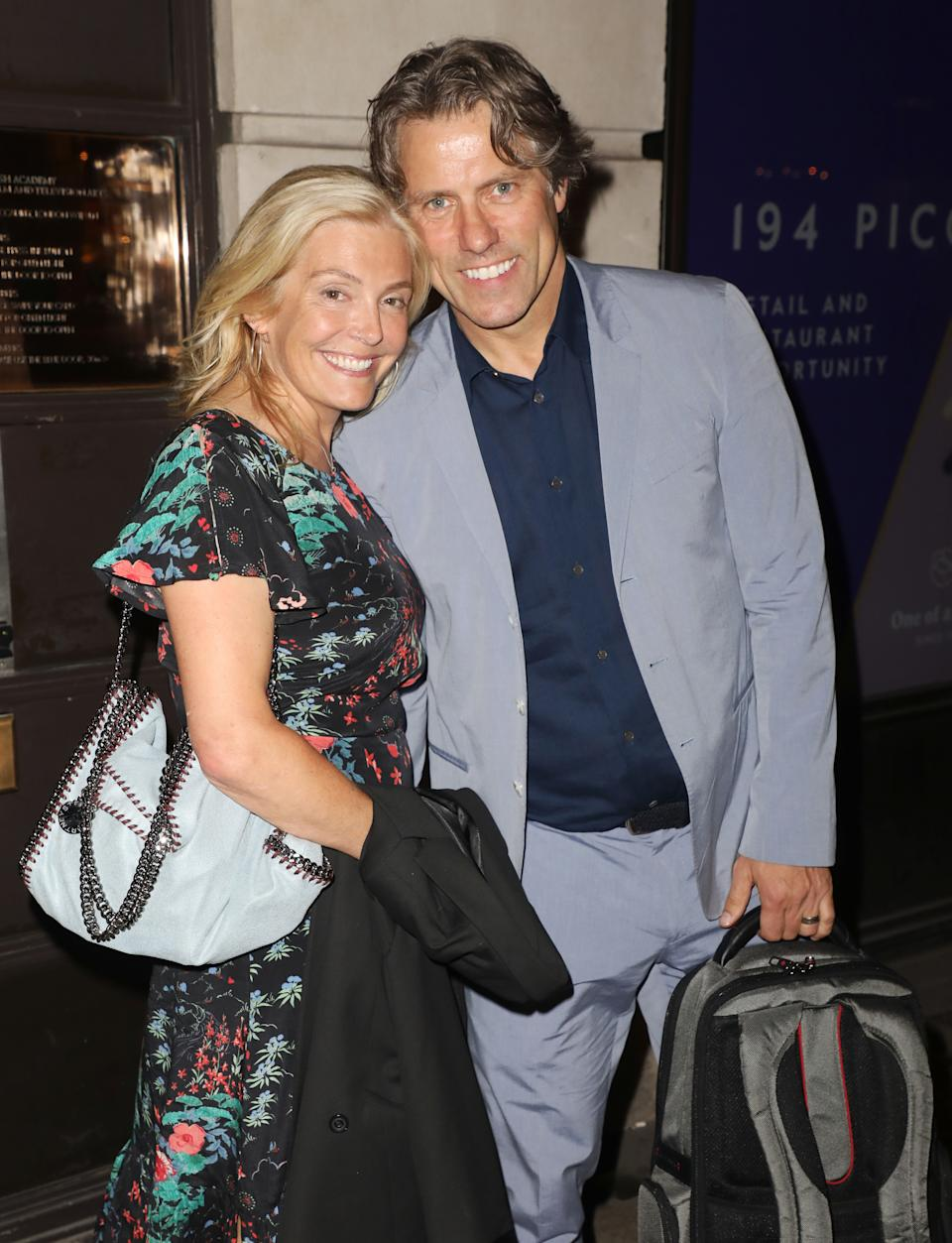 John Bishop and Melanie Bishop attending the RSPCA Animal Champions Honours at BAFTA in London (Photo by Brett Cove / SOPA Images/Sipa USA)