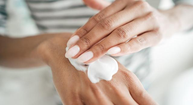 Amazon are selling O'Keeffe's top-rated hand cream to prevent dry skin. (Getty)
