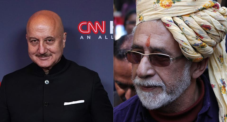 """""""Any number of his contemporaries from NSD (National School of Drama), FTII (Film and Television Institute of India) can attest to his sycophantic nature. It's in his blood. He can't help it."""""""
