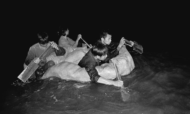 Many freedom swimmers used anything that would float to escape from the rigours of the Cultural Revolution in the 1960s
