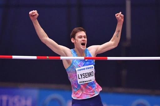 Russian high jumper Danil Lysenko has been provisionally suspended and senior officials are accused of falsifying documents related to his availability for anti-doping tests