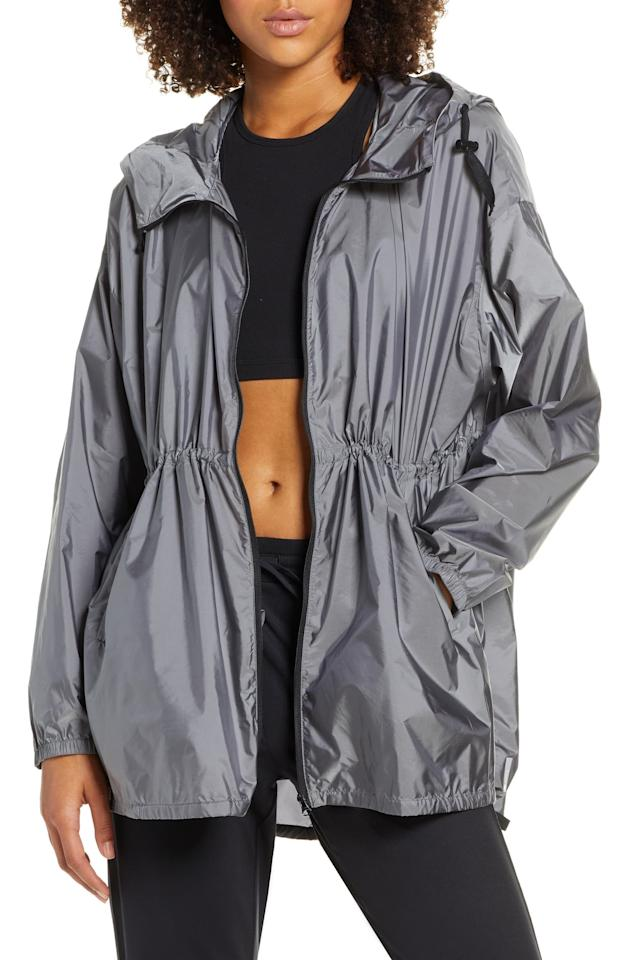 """<p><a href=""""https://www.popsugar.com/buy/Zella-Pack-Water-Resistant-Anorak-515616?p_name=Zella%20Pack%20It%20Water%20Resistant%20Anorak&retailer=shop.nordstrom.com&pid=515616&price=120&evar1=fab%3Aus&evar9=35813278&evar98=https%3A%2F%2Fwww.popsugar.com%2Ffashion%2Fphoto-gallery%2F35813278%2Fimage%2F46884313%2FAnorak&list1=shopping%2Cfall%20fashion%2Ccoats%2Cfall%2Cjackets%2Cwinter%2Cget%20the%20look%2Couterwear%2Cwinter%20fashion%2Cultimate%20guide&prop13=mobile&pdata=1"""" rel=""""nofollow"""" data-shoppable-link=""""1"""" target=""""_blank"""" class=""""ga-track"""" data-ga-category=""""Related"""" data-ga-label=""""https://shop.nordstrom.com/s/zella-pack-it-water-resistant-anorak/5220577/full?origin=category-personalizedsort&amp;breadcrumb=Home%2FWomen%2FClothing%2FCoats%2C%20Jackets%20%26%20Blazers&amp;color=silver"""" data-ga-action=""""In-Line Links"""">Zella Pack It Water Resistant Anorak</a> ($120) </p>"""