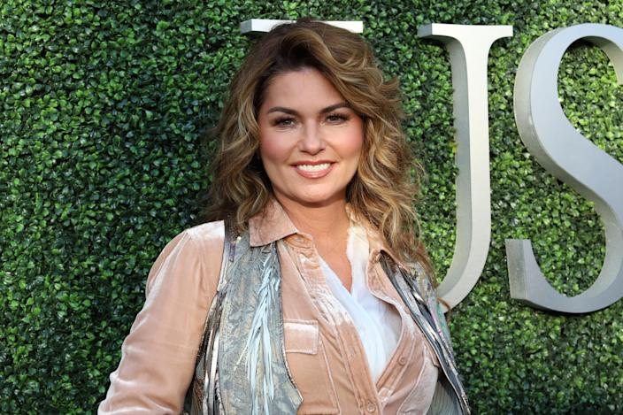 """<p>Not strictly a supporter, Shania Twain made headlines when she was quoted as saying <a rel=""""nofollow"""" href=""""https://uk.news.yahoo.com/shania-twain-expresses-regret-saying-shed-voted-donald-trump-151421125.html"""" data-ylk=""""slk:she'd have voted for Trump;outcm:mb_qualified_link;_E:mb_qualified_link;ct:story;"""" class=""""link rapid-noclick-resp yahoo-link"""">she'd have voted for Trump</a>: 'I would have voted for him because, even though he was offensive, he seemed honest.' She did, however, since express her regret at the comments taken out of context. (PA) </p>"""