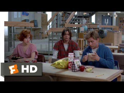"<p>Often called the most influential teen movie of all time, John Hughes' 1985 coming-of-age film stars Molly Ringwald, Emilio Estevez, Anthony Michael Hall, Judd Nelson, and Ally Sheedy as teenagers from different cliques who spend a Saturday in detention together at their high school. - TA</p><p><a href=""https://www.youtube.com/watch?v=u3mupIlFIYQ"" rel=""nofollow noopener"" target=""_blank"" data-ylk=""slk:See the original post on Youtube"" class=""link rapid-noclick-resp"">See the original post on Youtube</a></p>"